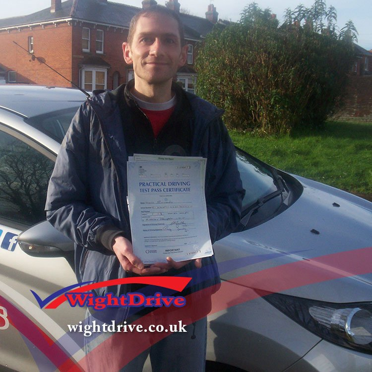 mark-simmonds-driving-test-pass-2014-with-graham-walton-isle-of-wight-driving-instructor