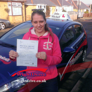 Stephanie-Whitlock-driving-test-pass-2015-with-john-mitchell-isle-of-wight-driving-instructor