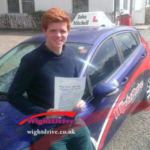Alex-hume-driving-test-pass-2015-with-john-mitchell