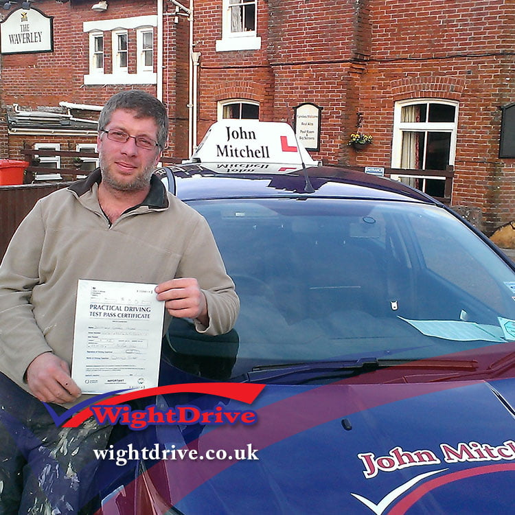 jonathan-wedge-2015-with-john-mitchell-isle-of-wight-driving-instructor
