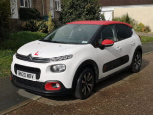 Wight Drive manual instruction car our current Citroen C3